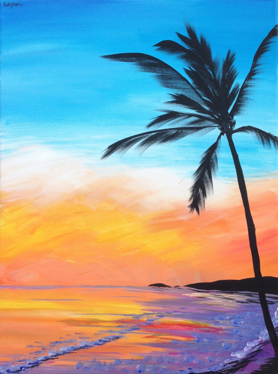 08 £80 Pina Colada, acrylic on 30x40cm canvas .jpg