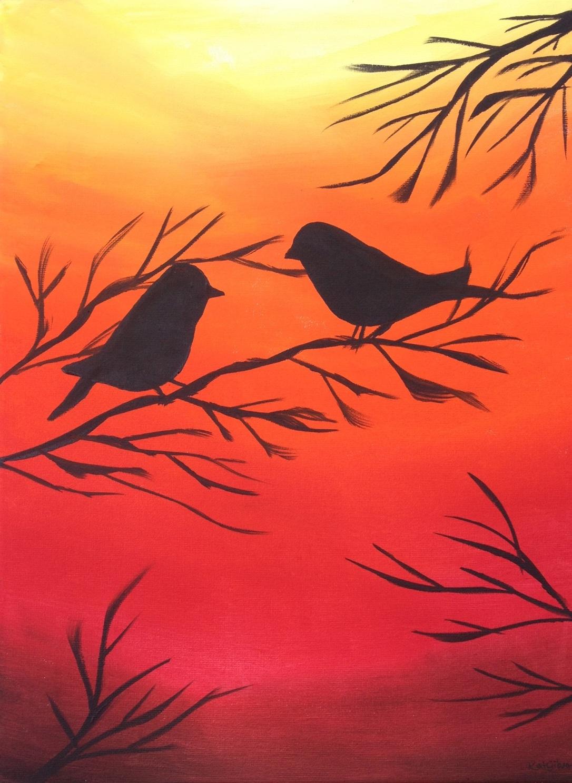 17 £55 Welcoming Autumn, acrylic on 30x40cm canvas .jpg