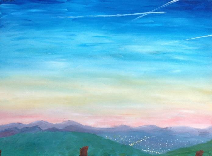 www.DeeperCards.com/hilltop-dusk